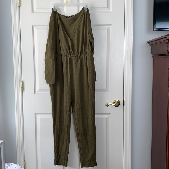 Army Green jumpsuit- 1XL